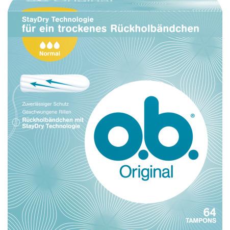 O.B. Tampon Normal 64er-Packung