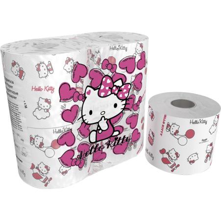 World Cart Toilettenpapier Hello Kitty 4x 200 Blatt 3-lagig