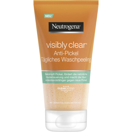 NEUTROGENA Visibly Clear Waschpeeling  Anti-Mitesser