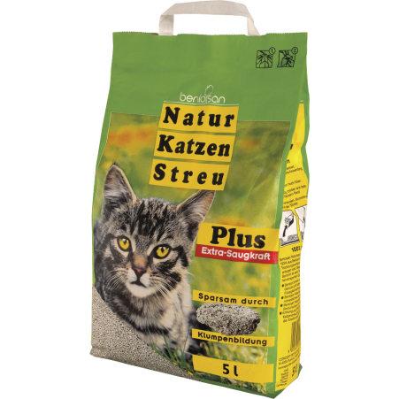 Bentosan Naturkatzenstreu mit Extra-Saugkraft