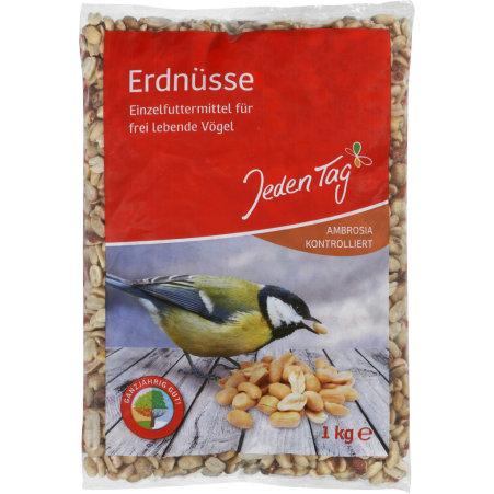 Jeden Tag Erdnüsse Futtermittel Vögel