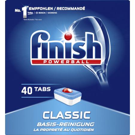 Finish Powerball Classic 40 Geschirrspültabs