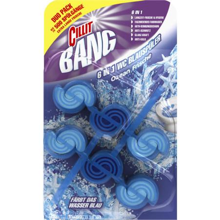 Cillit Bang Blue Wave 6 Ozean Frische WC-Stein