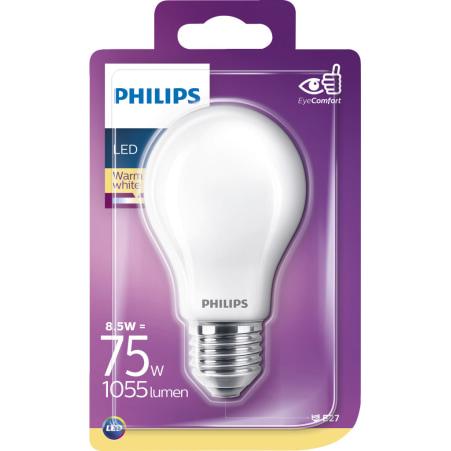 LED 75W E27 matt LED warm weiß matt 75 Watt 1055 Lumen E27