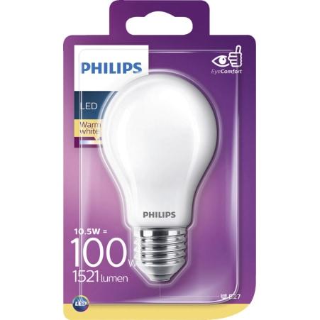 Philips LED warm weiß matt 100 Watt E27