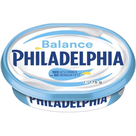 PHILADELPHIA Frischkäse Balance Natur