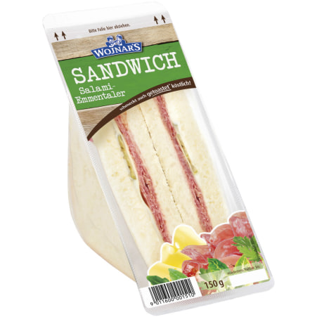 Wojnar`s Sandwich Salami-Emmentaler
