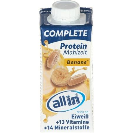 allin Complete Protein Mahlzeit Banane
