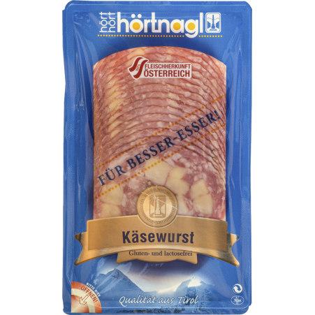 Hörtnagl Käsewurst geschnitten