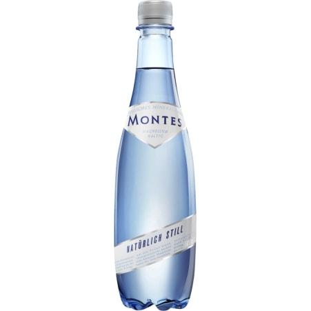 Montes Mineralwasser still 0,5 Liter