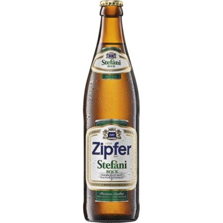 ZIPFER BIER Stefani Bock 0,5 Liter Mehrweg-Flasche