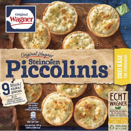 WAGNER Piccolinis Drei Käse