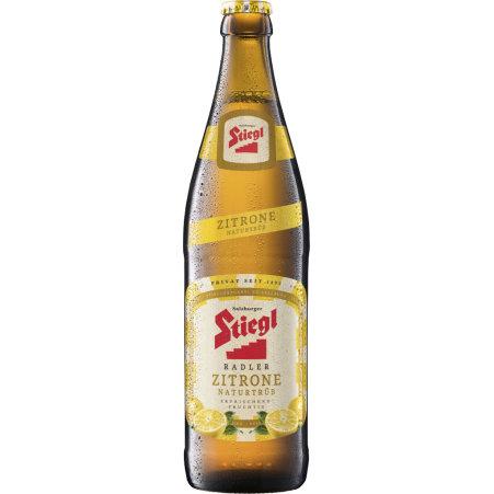 Stiegl Radler Zitrone 0,5 Liter Mehrweg-Flasche