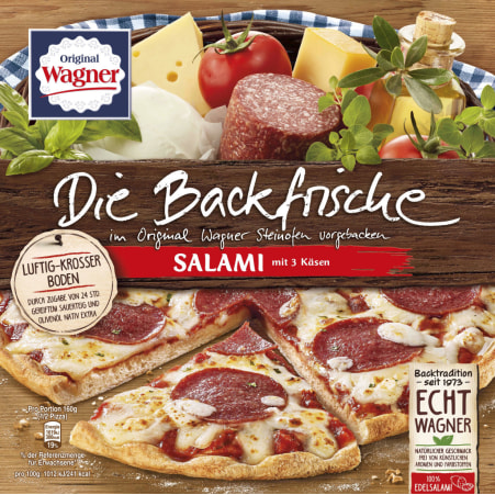 WAGNER Backfrische Salami
