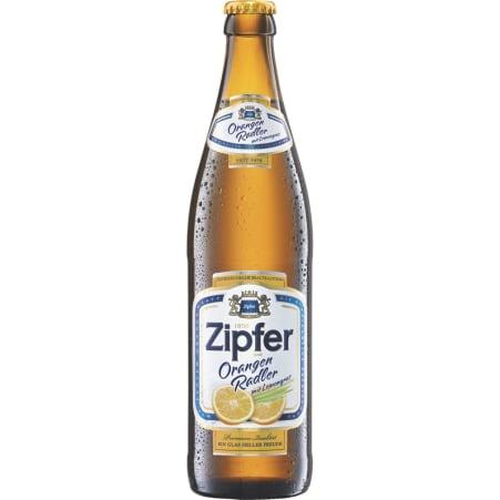 ZIPFER BIER Orangen Radler 0,5 Liter Mehrweg-Flasche