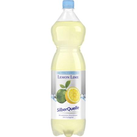 SilberQuelle Lemon Lime kalorienarm 1,5 Liter