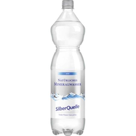 SilberQuelle Mineralwasser mild Tray 6x 1,5 Liter