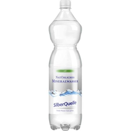 SilberQuelle Mineralwasser still 1,5 Liter