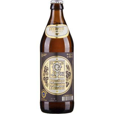 Augustinerbräu München Edelstoff 0,5 Liter Mehrweg-Flasche