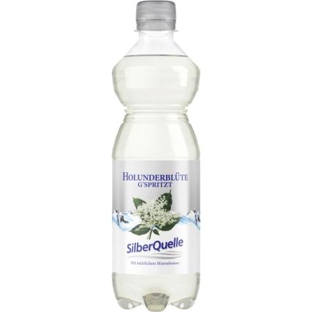 SilberQuelle Holunderblüte gespritzt 0,5 Liter