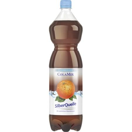 SilberQuelle Cola Mix Kalorienarm Tray 6x 1,5 Liter