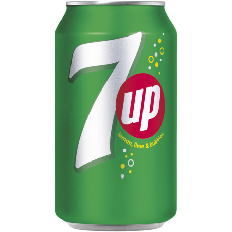 Seven Up Limonade 0,33 Liter Dose