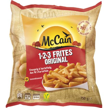 McCain 1-2-3 Frittes Original