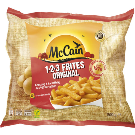 McCain 1-2-3 Frites groß