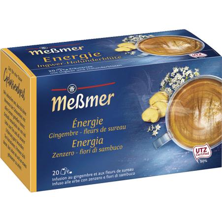 MESSMER Energie Ingwer-Holunderblüte