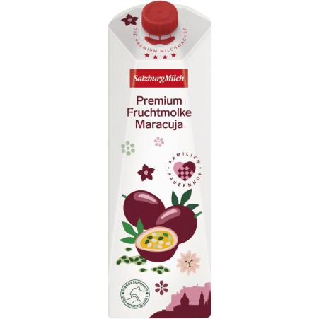 SalzburgMilch Premium Fruchtmolke Maracuja 1,0 Liter