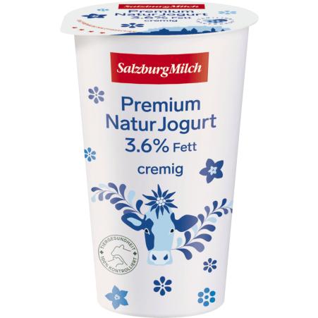 SalzburgMilch Premium Naturjogurt cremig 3,6 % 250 gr