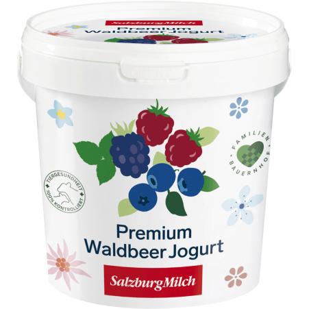 SalzburgMilch Premium Jogurt Waldbeer 1,0 kg