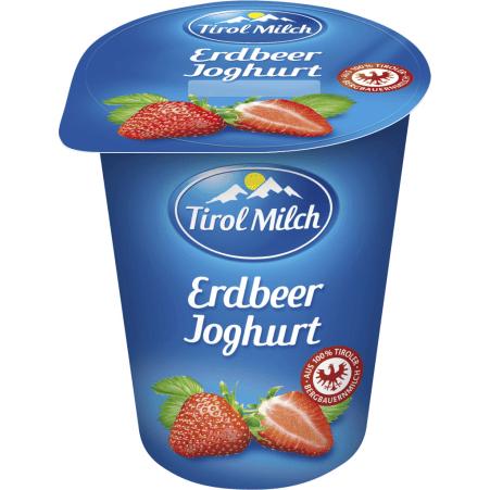 Tirol Milch Joghurt Erdbeer 180 gr