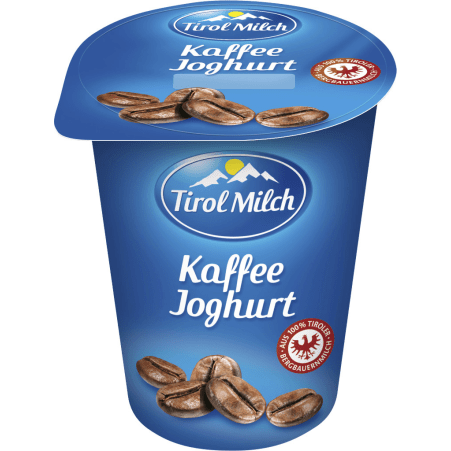 Tirol Milch Joghurt Kaffee 180 gr
