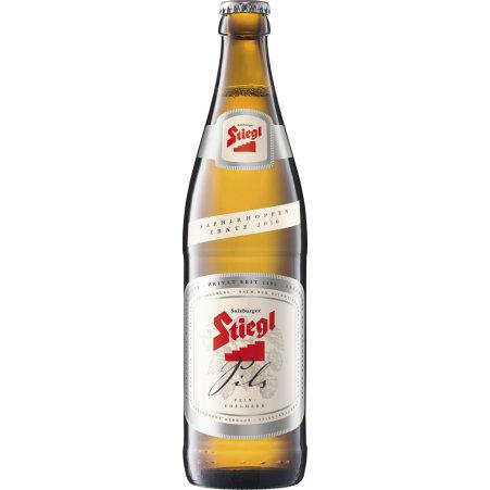 Stiegl Pils 0,5 Liter Mehrweg-Flasche