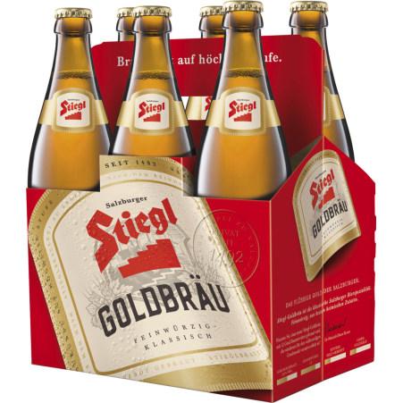 Stiegl Goldbräu Tray 6x 0,5 Liter Mehrweg-Flasche