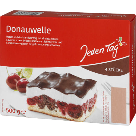 Jeden Tag Donauwelle 4er-Packung
