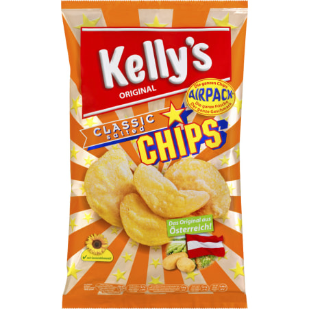 Kelly's Chips classic salted