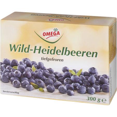 Omega Wild-Heidelbeeren tiefgefroren