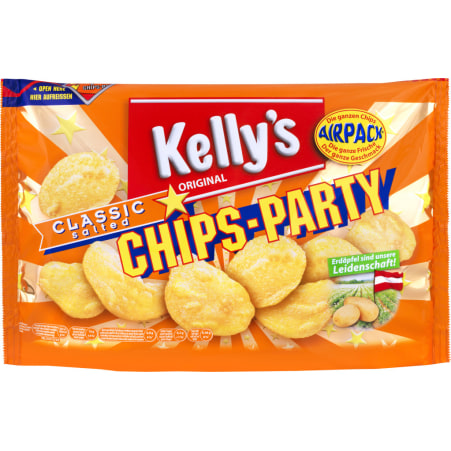 Kelly's Chips Party classic salted