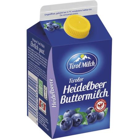 Tirol Milch Buttermilch Heidelbeer