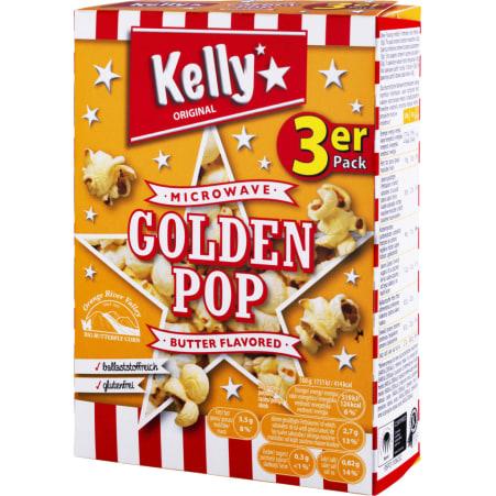Kelly's Mikrowellenpopcorn Golden Pop Butter