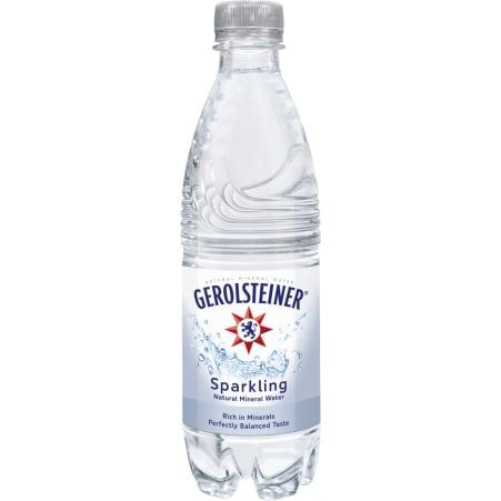 GEROLSTEINER Mineralwasser prickelnd 0,5 Liter
