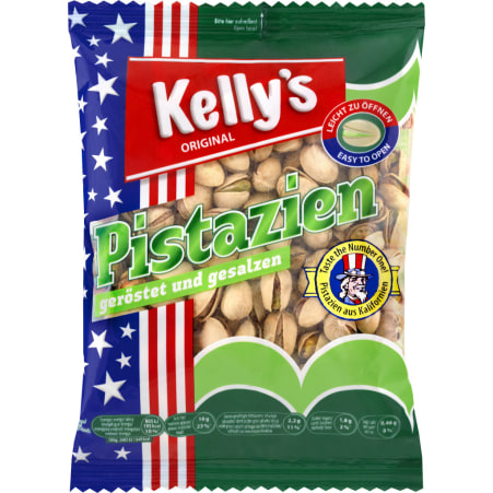 Kelly's Pistazien geröstet & gesalzen