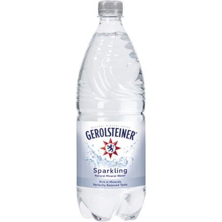 GEROLSTEINER Mineralwasser sparkling Tray 6x 1,0 Liter