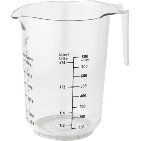 FACKELMANN Messbecher bedruckt 1,0 Liter