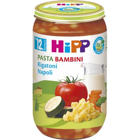 HiPP Pasta Bambini-Rigatoni Napoli 12. Monat