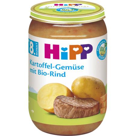 HiPP Bio Rind mit Kartoffel-Gemüse 8. Monat