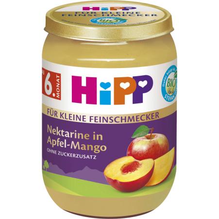 HiPP Nektarine in Apfel-Mango 6. Monat