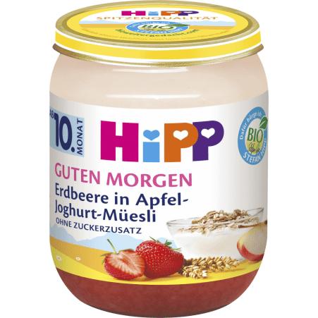 HiPP Guten Morgen Erdbeere in Apfel-Joghurt 10. Monat